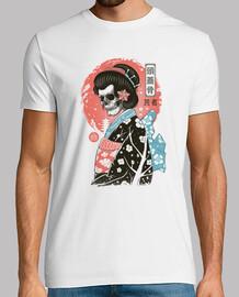 yokai geisha shirt homme