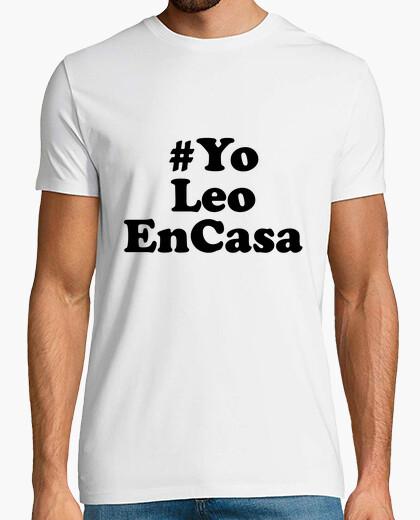Camiseta YoLeoEnCasa