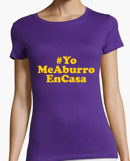 Camiseta YoMeAburroEnCasa