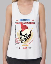 Yondu & The Ravagers on tour (b) - chica