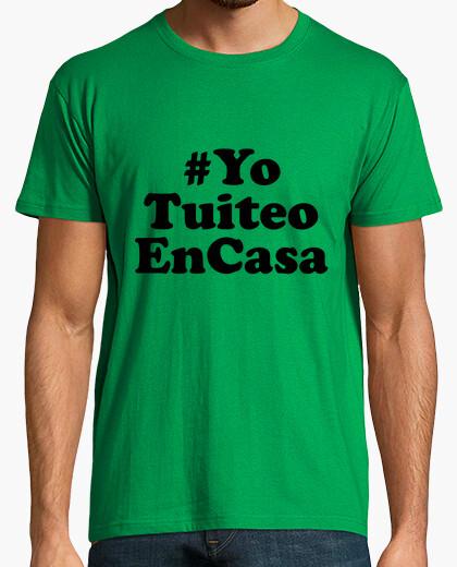 Camiseta YoTuiteoEnCasa