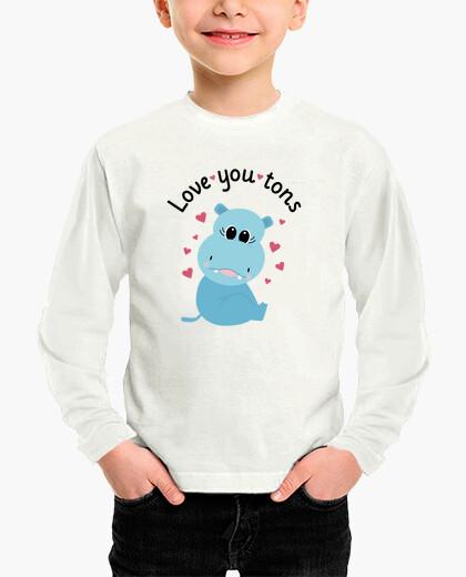 Abbigliamento bambino you amore tantissimo