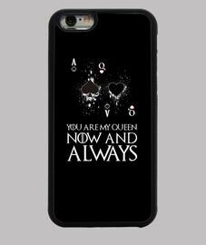 YOU ARE MY QUEEN - Funda iPhone 6, negra