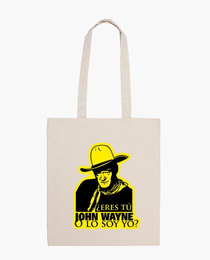 You are t john wayne? bag