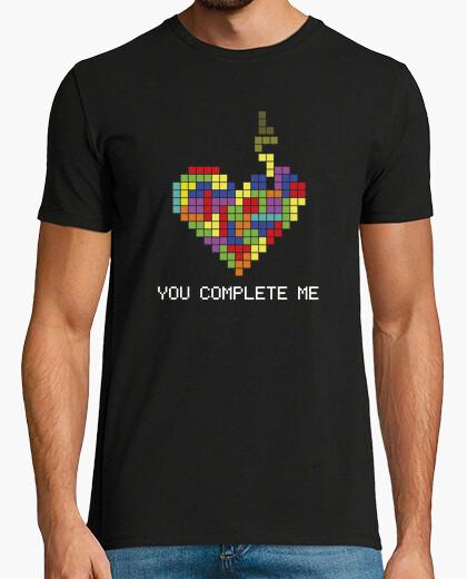 Camiseta You complete me (Tetris)