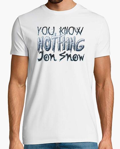 Camiseta You Know Nothing Jon Snow (Juego de Tronos)