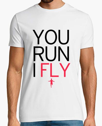 Camiseta You Run I Fly