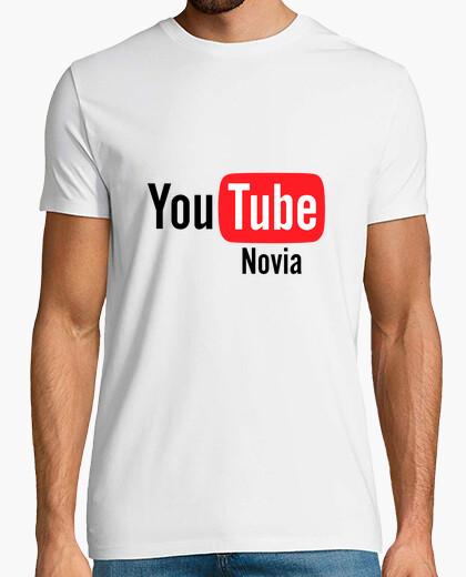 Camiseta You Tube Novia