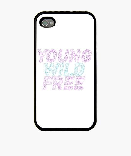 Funda iPhone Young wild free