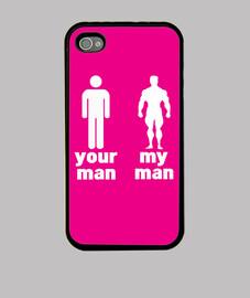 Your man VS My man - rose