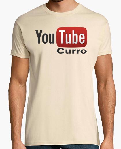 Camiseta Youtube curro