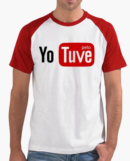 Camiseta Youtube pelo - yo tuve pelo