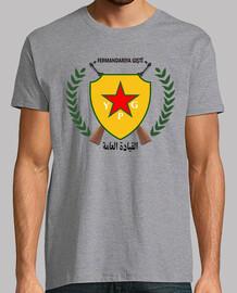 YPG. Unidades de Protección Popular. Kurdistan