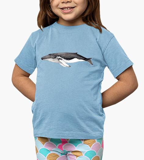 Ropa infantil Yubarta ballena jorobada Camiseta