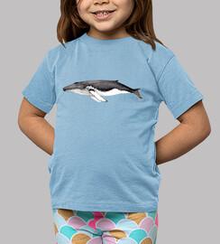Yubarta ballena jorobada Camiseta