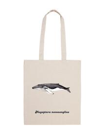 yubarta sac à bandoulière baleine à bosse