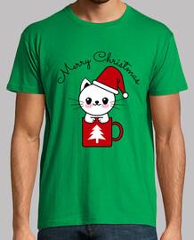 Yuky el Gato que le gusta la Navidad
