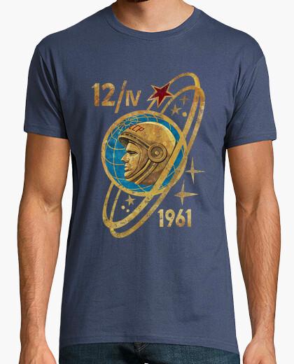 Camiseta Yuri Gagarin 12 IV 1961