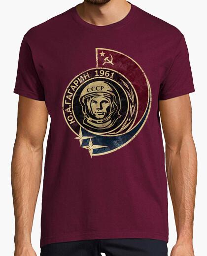 T-shirt yuri gagarin 1961 v02