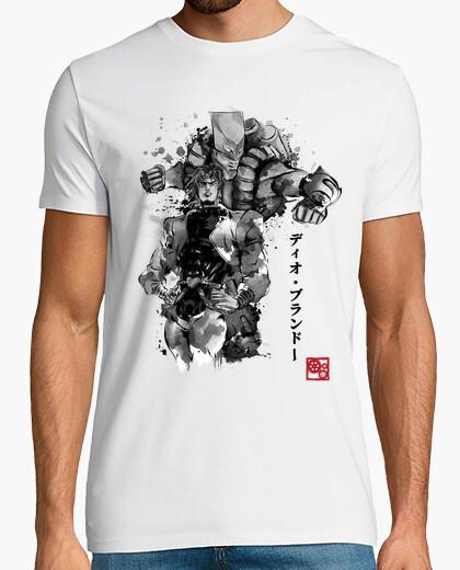 Za warudo sumi-e t-shirt
