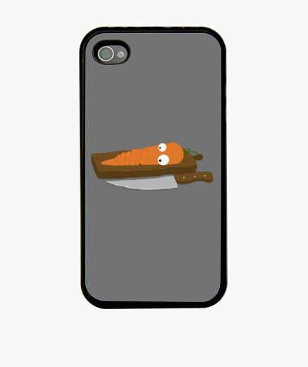Funda iPhone zanahoria iphone 4