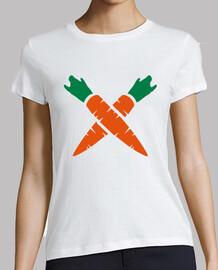 zanahorias cruzadas