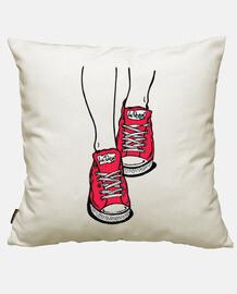 Zapatillas Rojo