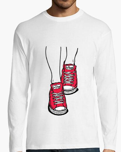 Camiseta Zapatillas Rojo