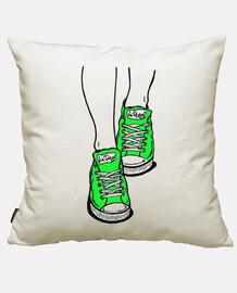 Zapatillas verde lima