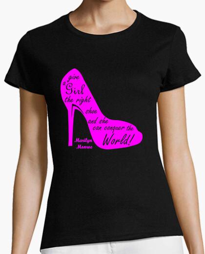 Camiseta zapato Marilyn