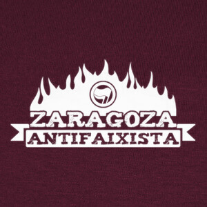 T-shirt Zaragoza Antifaixista