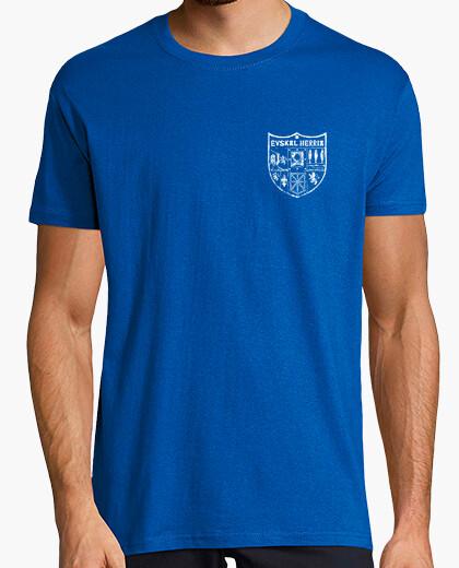 Camiseta Zazpiak bat  Euskal Herria blanco