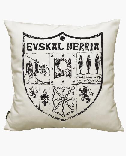 Zazpiak bat euskal herria black cushion cover