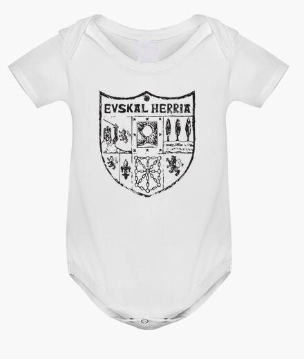 Kinderbekleidung zazpiak fledermaus baskenland schwarz