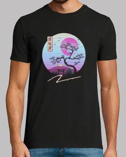 zen chillwave shirt herren