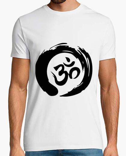 code promo 12eff 56dd3 Tee-shirt zen mantra om shirt noir (homme) - 1010978 ...