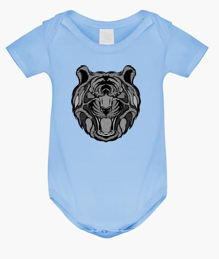 Ropa infantil zentangle tigre