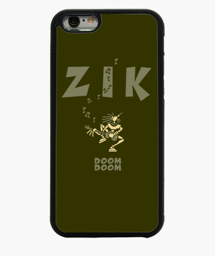 Coque Iphone 6 ZikBassArmyClair by Stef
