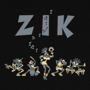 Tee-shirts ZikDeco by Stef