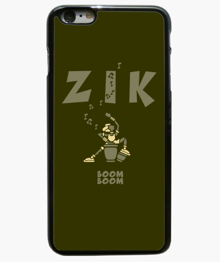Coque Iphone 6 Plus ZikKongaArmyClair by Stef