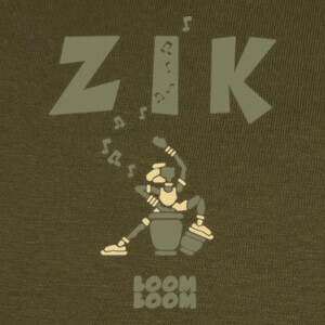 Tee-shirts ZikKongaArmyClair by Stef