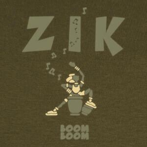 Tee-shirts zikkongaarmyclair por stef