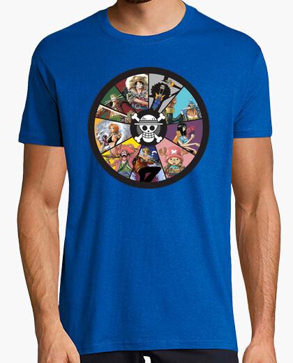 Camiseta Zodiaco Mugiwaras - One Piece