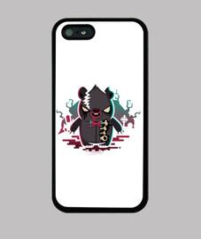 Zombie Bear iPhone 5/5s Case
