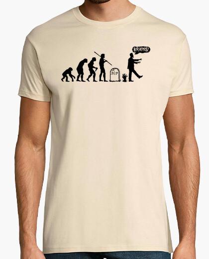 Tee-shirt Zombie Evolution