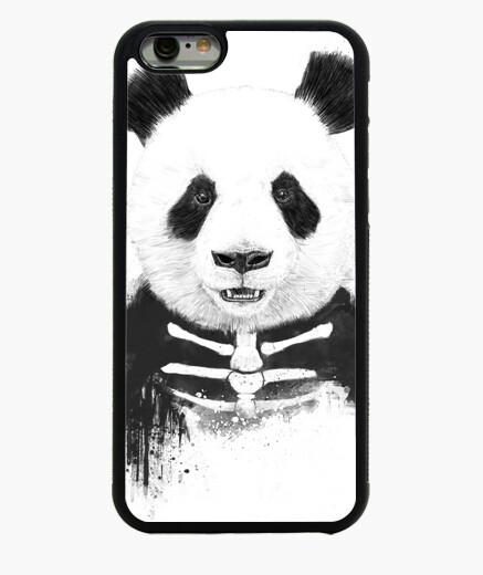 Funda iPhone 6 / 6S Zombie Panda