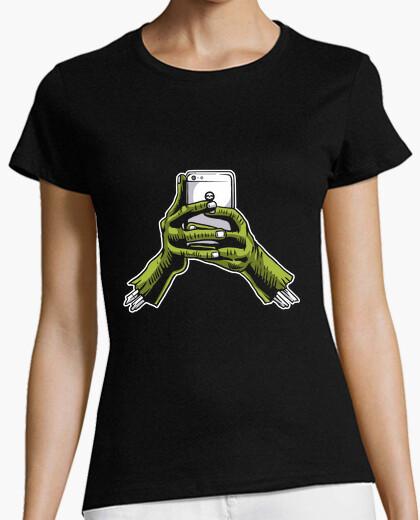 Camiseta Zombie Phone