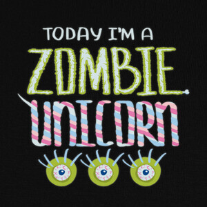 Zombie Unicorn T-shirts