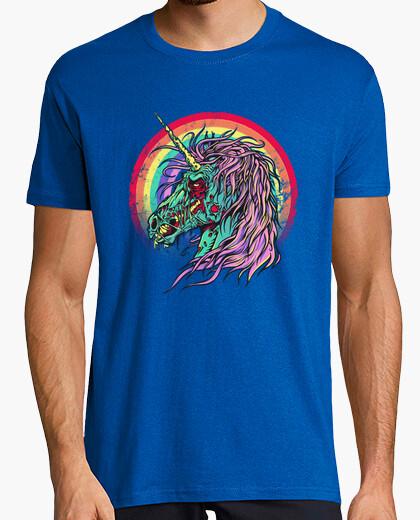 Camiseta zombie unicornio