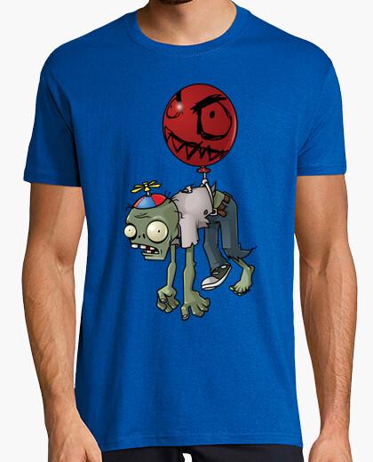Camiseta Zombie volador